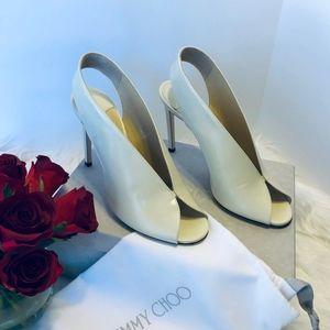 NWT Jimmy Choo Shar 100 Slingback Sandal Heels